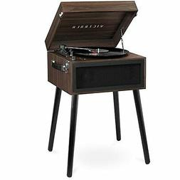 Victrola Bluetooth Record Player Stand with 3-Speed Turntabl