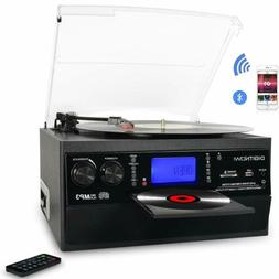 Bluetooth Record Player Turntable with Stereo Speaker LP Vin