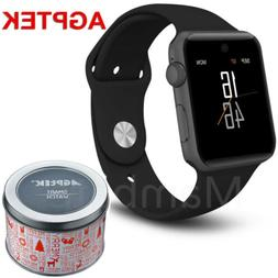 AGPTEK Bluetooth Smart Wrist Watch SIM Phone Mate for Phone