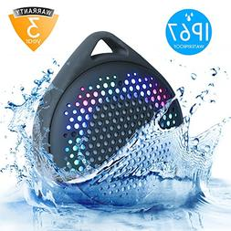 Bluetooth Speaker with Colorful lights changing with sound I