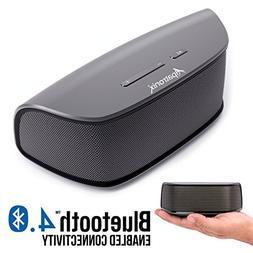 Bluetooth Speakers, Alpatronix AX420 Ultra Portable Universa