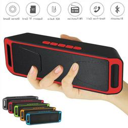 Bluetooth Speakers Portable Wireless MP3 Player USB TF Card