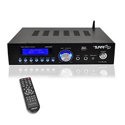 Pyle  200W Audio Stereo Receiver - Wireless Bluetooth Home P