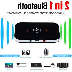 Bluetooth Transmitter Receiver Wireless A2DP for TV Stereo A