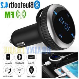 Bluetooth Wireless FM Transmitter MP3 Music Player Handsfree