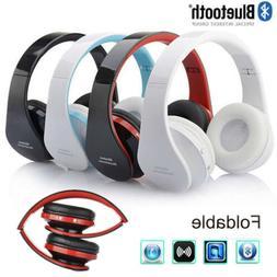 Bluetooth Wireless Headset Stereo Headphone Foldable Earphon
