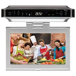 iLive Bluetooth Wireless Under the Cabinet Kitchen DVD/CD Pl