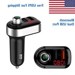 Bluetooth Wireless USB Charger MP3 player Car Audio Stereo R