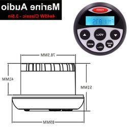 Boat Marine Radio Bluetooth Stereo Waterproof  Audio Sound S