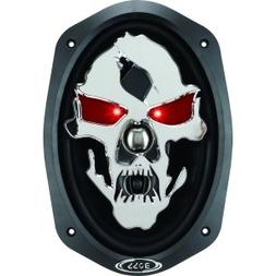 Boss PHANTOM SKULL SK693 Speaker - 600 W PMPO - 3-way - 45 H