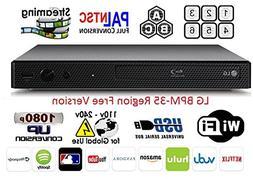 LG BPM-35 Region Free Blu-ray Player, Multi region Smart Wif
