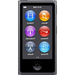 Brand New Apple iPod nano 7th Generation Space Gray  Warrant