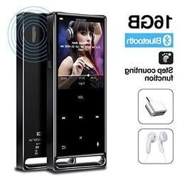 Brand New MP3 Player, Bluetooth 16GB Lossless,FM Radio/Foots
