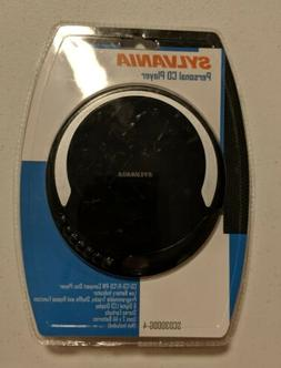 BRAND NEW Sylvania Personal CD Player w/  Earbuds SCD300DG-4