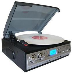 Boytone BT-17DJS Record Player Turntable Stereo Speakers AM