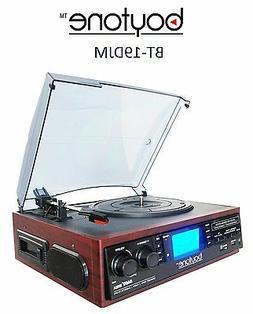 Boytone BT-19DJM-C 3-speed Turntable, 2 Built in Speakers La