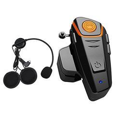 Qinaurora BT-S2 1000m Bluetooth Headset Waterproof BT Motorc