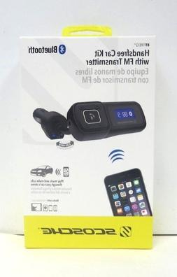 SCOSCHE BTFM Handsfree Car Kit with FM Transmitter for Iphon