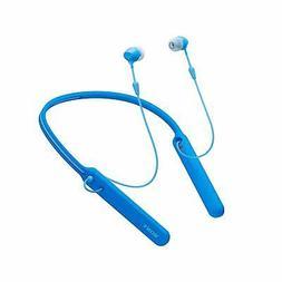 Sony - C400 Wireless Behind-Neck in Ear Headphone Blue