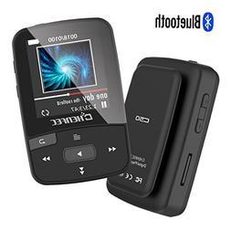 ChenFec C50 8GB Clip Bluetooth MP3 Player 1.5 Inch Screen Mi