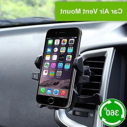 Universal Car Mount Holder Stand Air Vent Cradle For iPhone