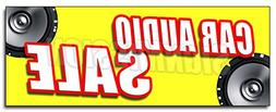 """48"""" CAR AUDIO SALE DECAL sticker mps speakers stereo install"""
