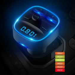 Car Bluetooth FM Transmitter MP3 Player Radio Adapter Kit US