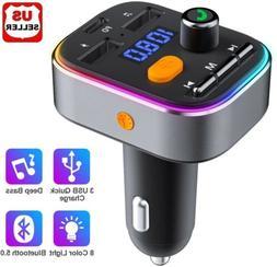car cigar plug bluetooth fm transmitter mp3