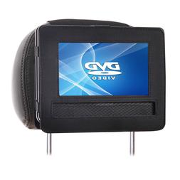 TFY New Car Headrest Mount for 9 Inch Portable DVD Players S