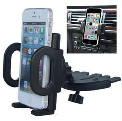 360° Car Holder CD Slot Mount Bracket For Mobile Cell Phone