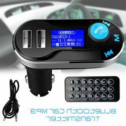 Car Kit Bluetooth MP3 Player FM Transmitter Wireless Radio A