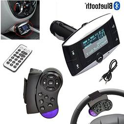 "1.5"" LCD Car Kit MP3 Bluetooth Player BT FM Transmitter FM M"