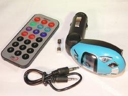 AGPtek Car Kit MP3 Player Wireless FM Transmitter Modulator