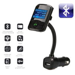 Car Kit MP3 Player Wireless Bluetooth FM Transmitter Modulat