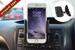 Car Mount CD Player Slot Cell Phone Holder For Samsung Galax