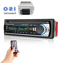 Car Stereo with Bluetooth, Huicocy In-Dash Single Din Car Ra