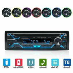 Car Stereo MP3 Player Bluetooth AUX USB TF FM Radio Audio MI