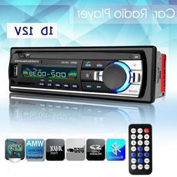 Car Stereo Audio BT In-Dash FM Aux Input Receiver SD USB MP3