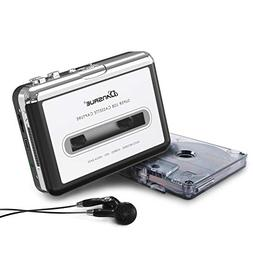 Cassette to MP3 Converter, USB Cassette Player Recorder to M