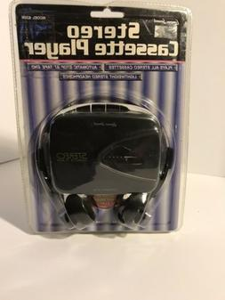Lenoxx Sound Cassette Player and Headphones 820M Brand NEW S