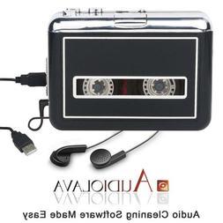 Cassette Player Portable Walkman Convert Cassette Tape to Di