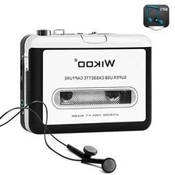 Wikoo Cassette Tape to MP3 CD Converter via USB, Portable US