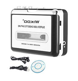 Wikoo Cassette Tape to MP3 CD converter via USB, Portable US