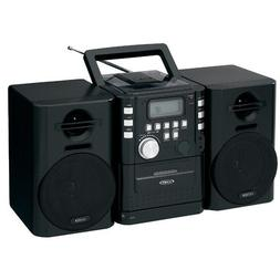 JENSEN CD-725 Portable CD Music System with Cassette & FM St