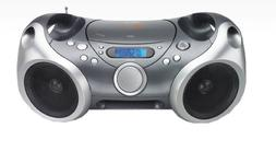Memorex Sport CD/MP3 portable Boombox with AM/FM Radio and D