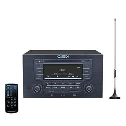 KEiiD CD Player with 4-Way 4x20W Amplifier 4.0 Output,Built-