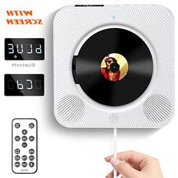 CD Player with Bluetooth, Govee Portable CD Player with Remo