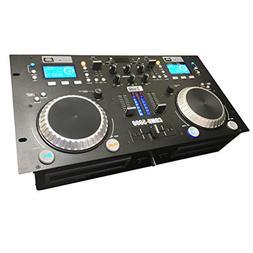 CDMB-5000 Dual Media Player Mixer Combo - CD - USB - MP3 - B