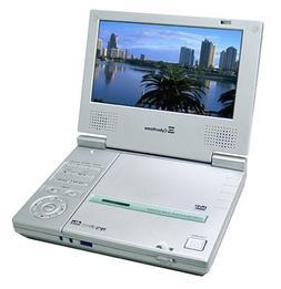 Cyberhome CH-LDV700B Portable DVD Player with 7-Inch Screen