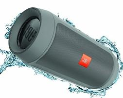 JBL Charge 2+ Splashproof Portable Bluetooth Speaker - Grey